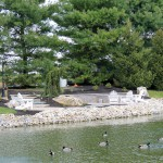 Duck and Koi Feeding Pond and Walking Trail