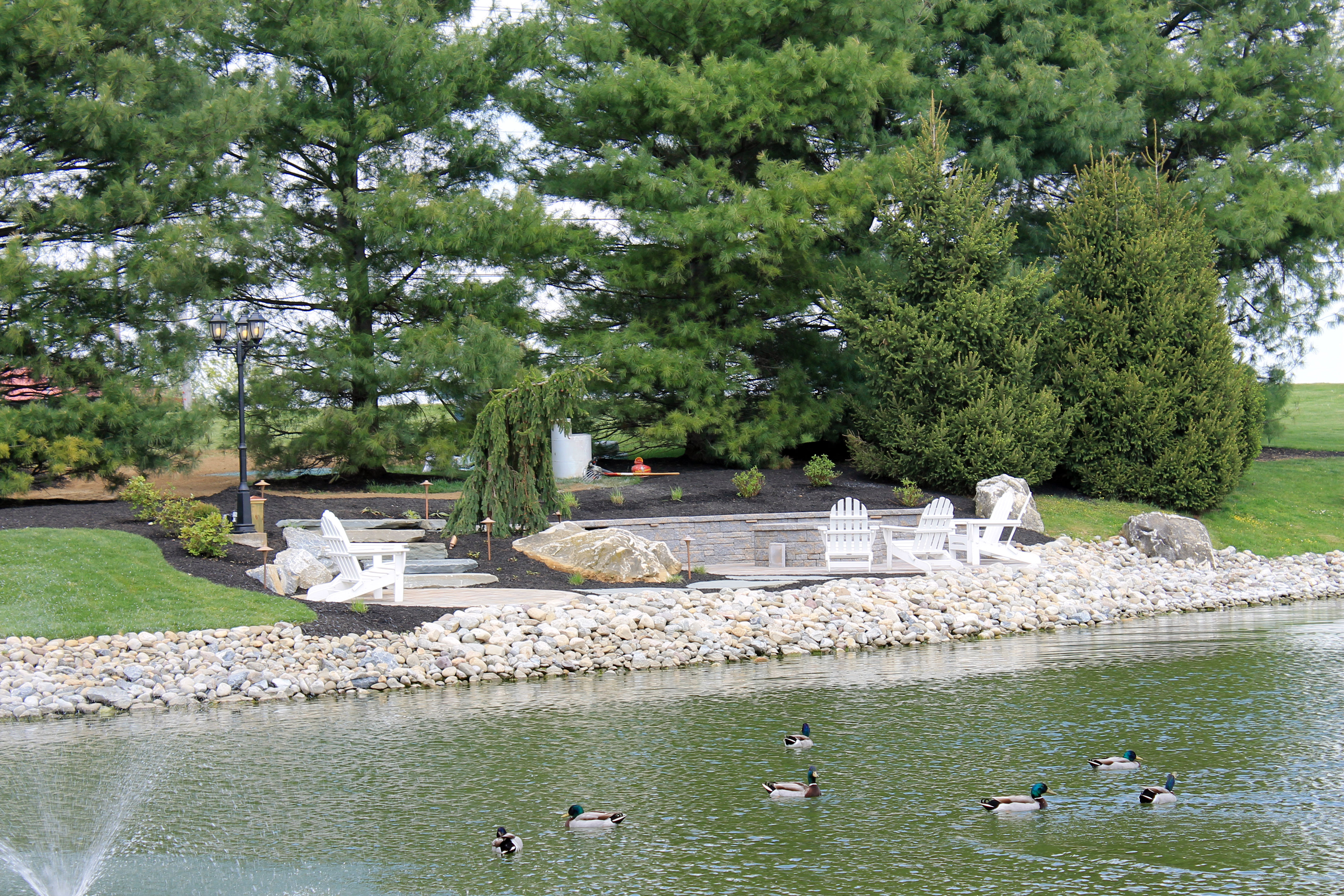 Hotels in lancaster pennsylvania lodging in lancaster pa for Virtual koi fish pond