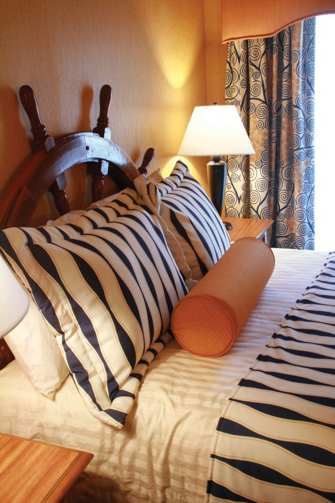 Nautical Theme Guest Room