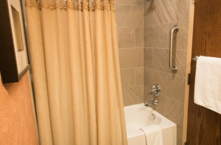 Deluxe Room with Shower and Tub Combo